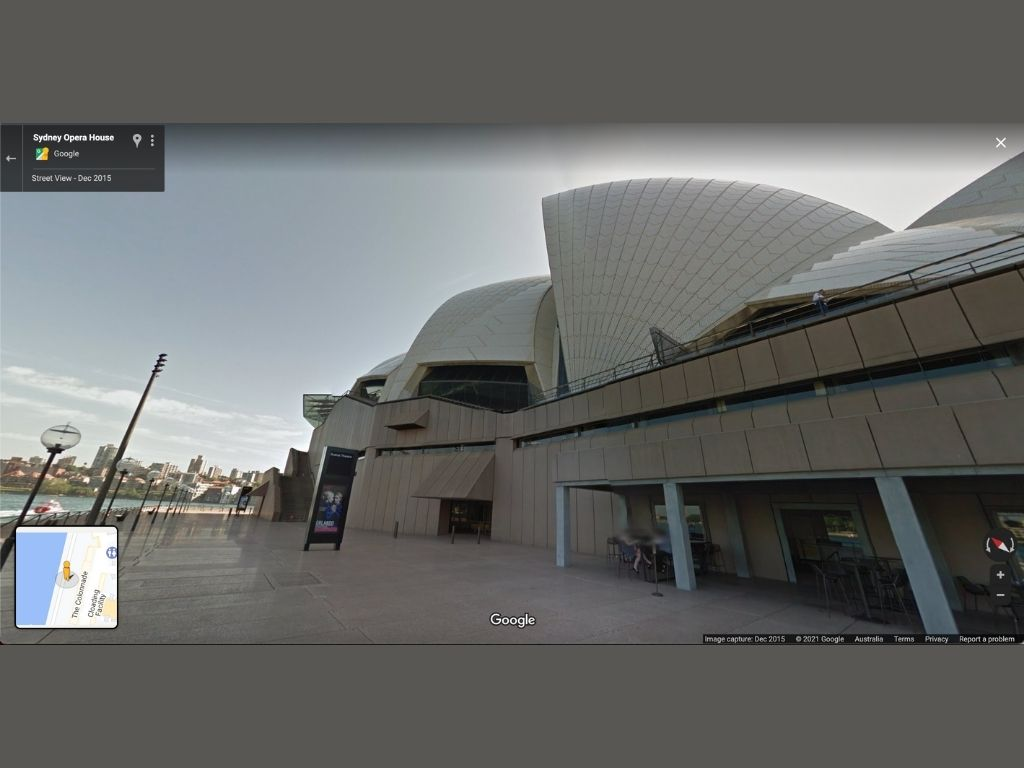 Monoscopic View of Sydney Opera House