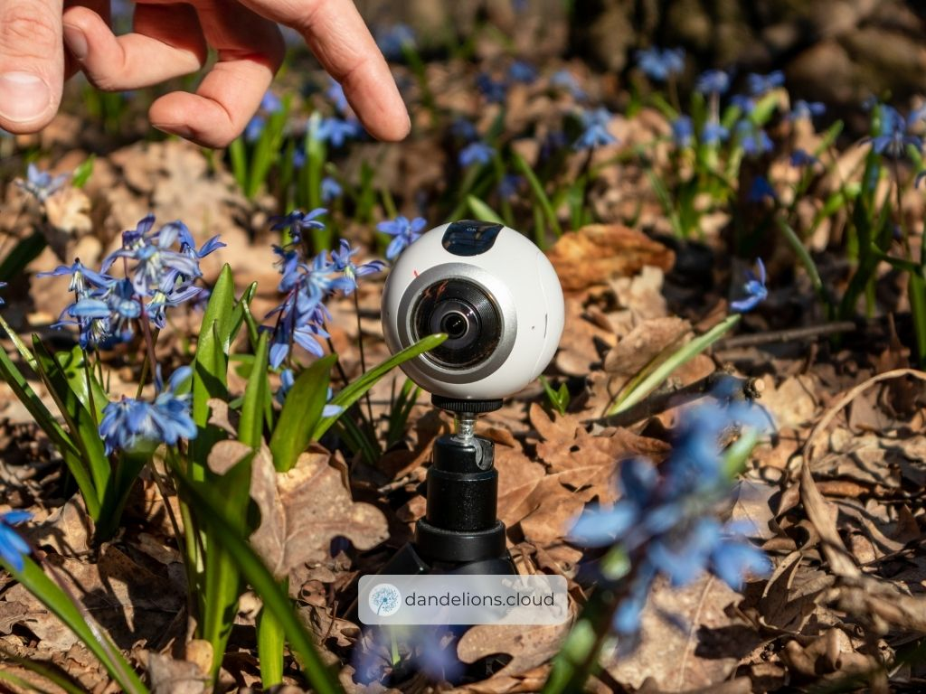 Use 360 Cameras for research