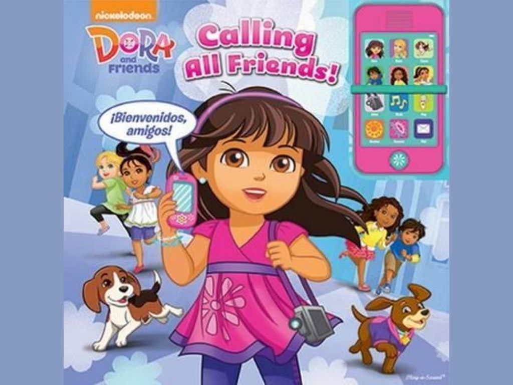 Dora and Friends   Image Credit: Dora Calling All Friends Cell Phone Book