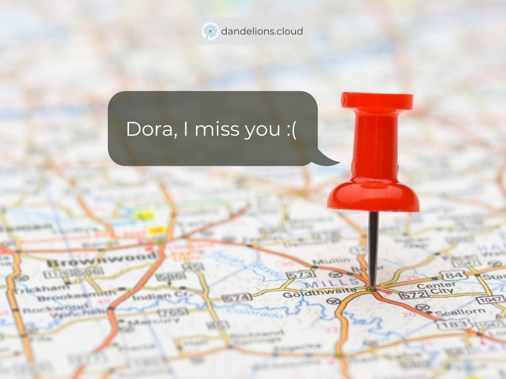 Dora does not use physical map anymore