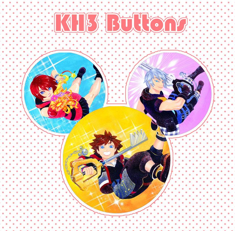 Kingdom Hearts III Buttons