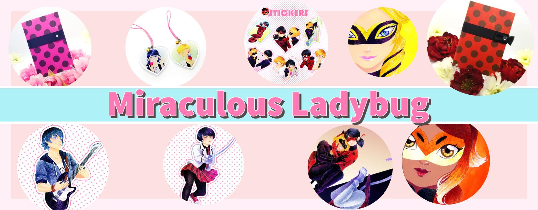 Miraculous Ladybug product banner