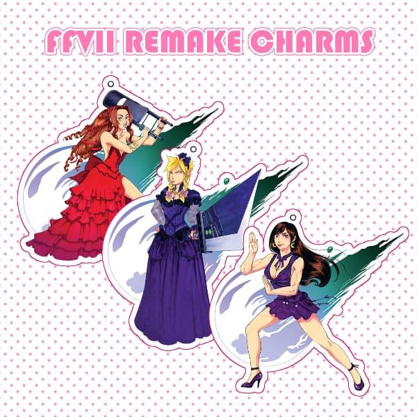 FFVII Remake Bride Charms