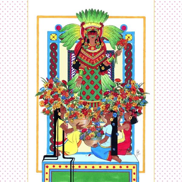 Goddess Xochiquetzal