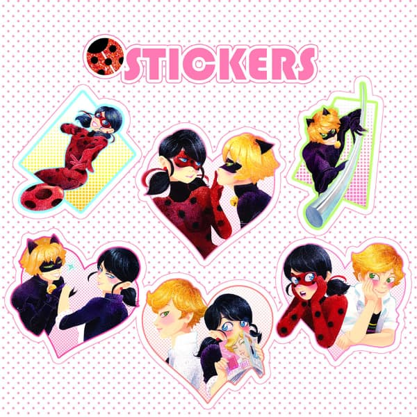 Miraculous Stickers