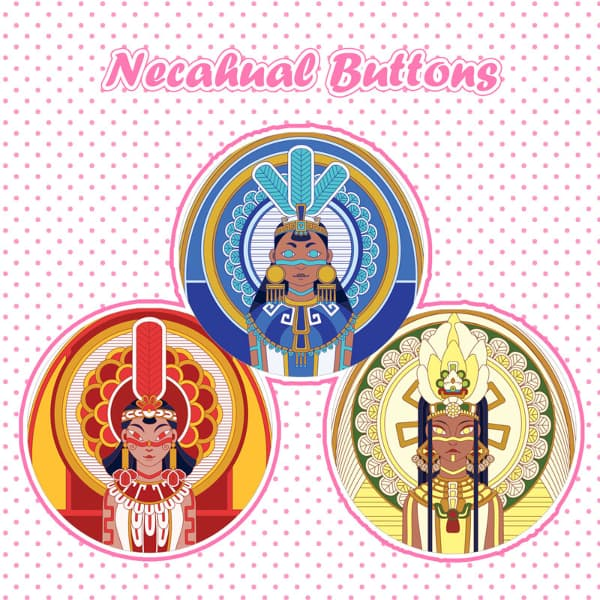 Necahual Buttons