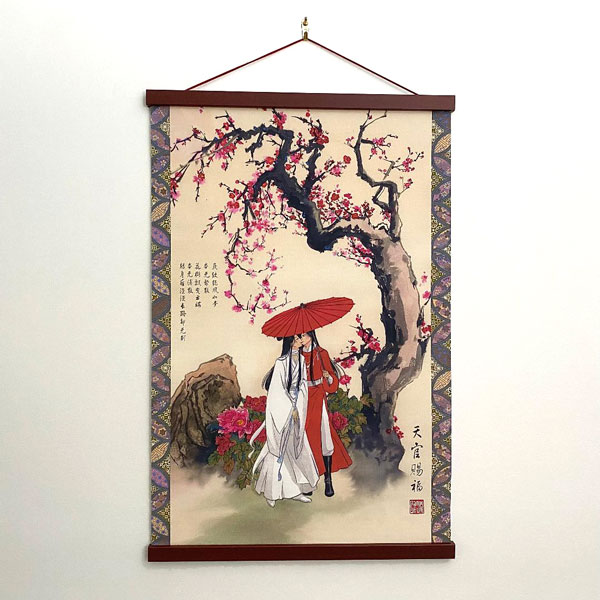 Heaven Official's Blessing Wall Scroll