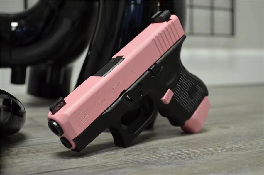 Bazooka Pink Cerakote by X-Werks Firearms