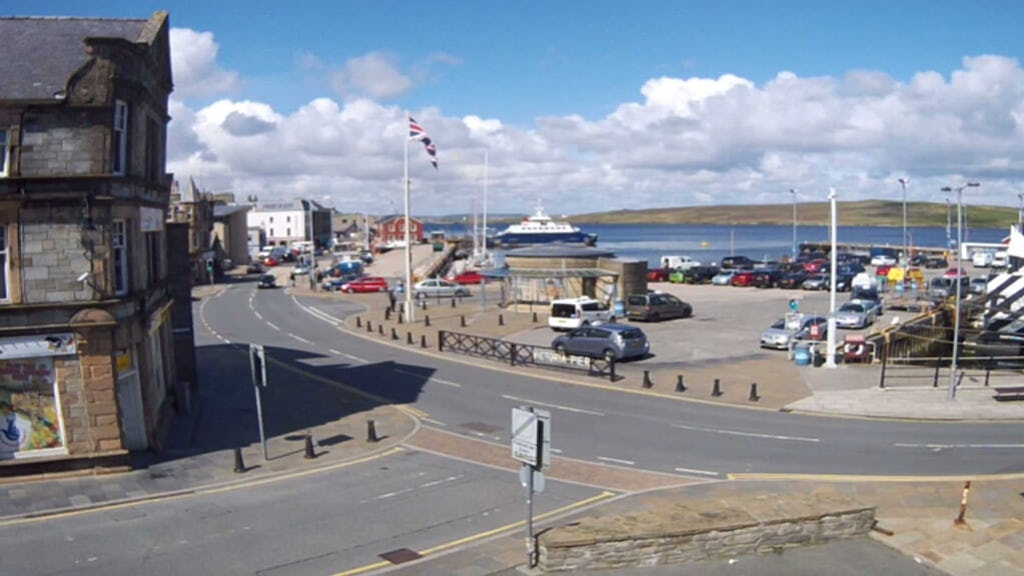 Esplanade Cam | Shetland Webcams