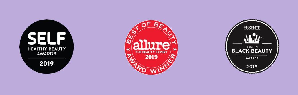 Self Healthy Beauty awards, Allure Best of Beauty, Essence Best in Black Beauty