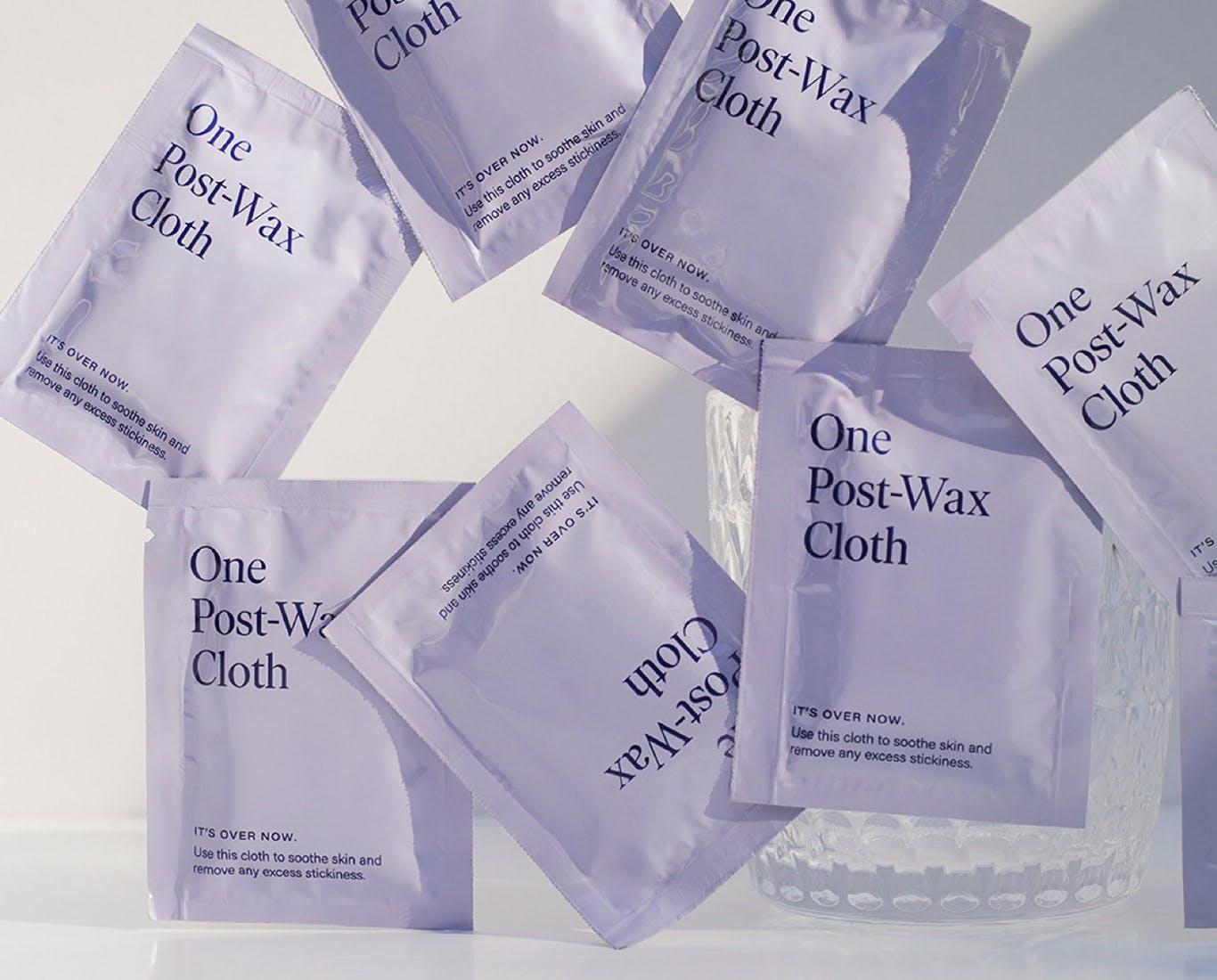 Post wax cloths.