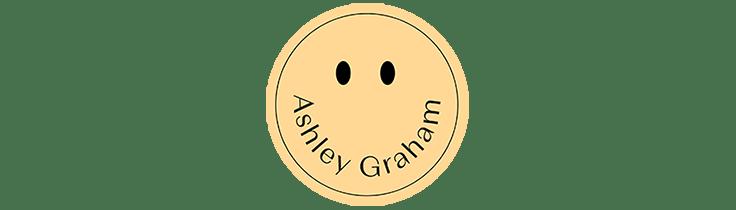Ashley Graham smiley face