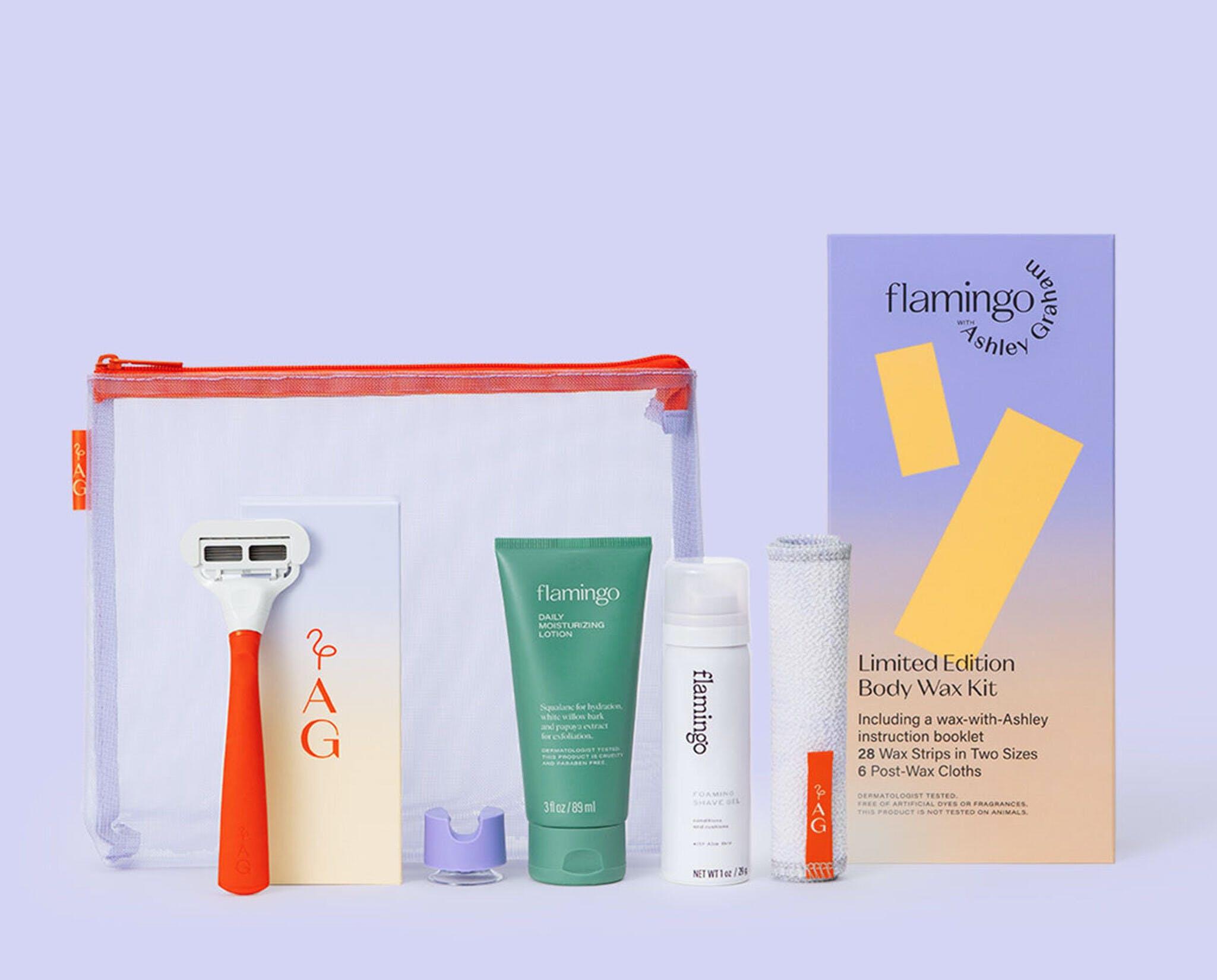 Ashley Graham Shave Set + Body Wax Kit