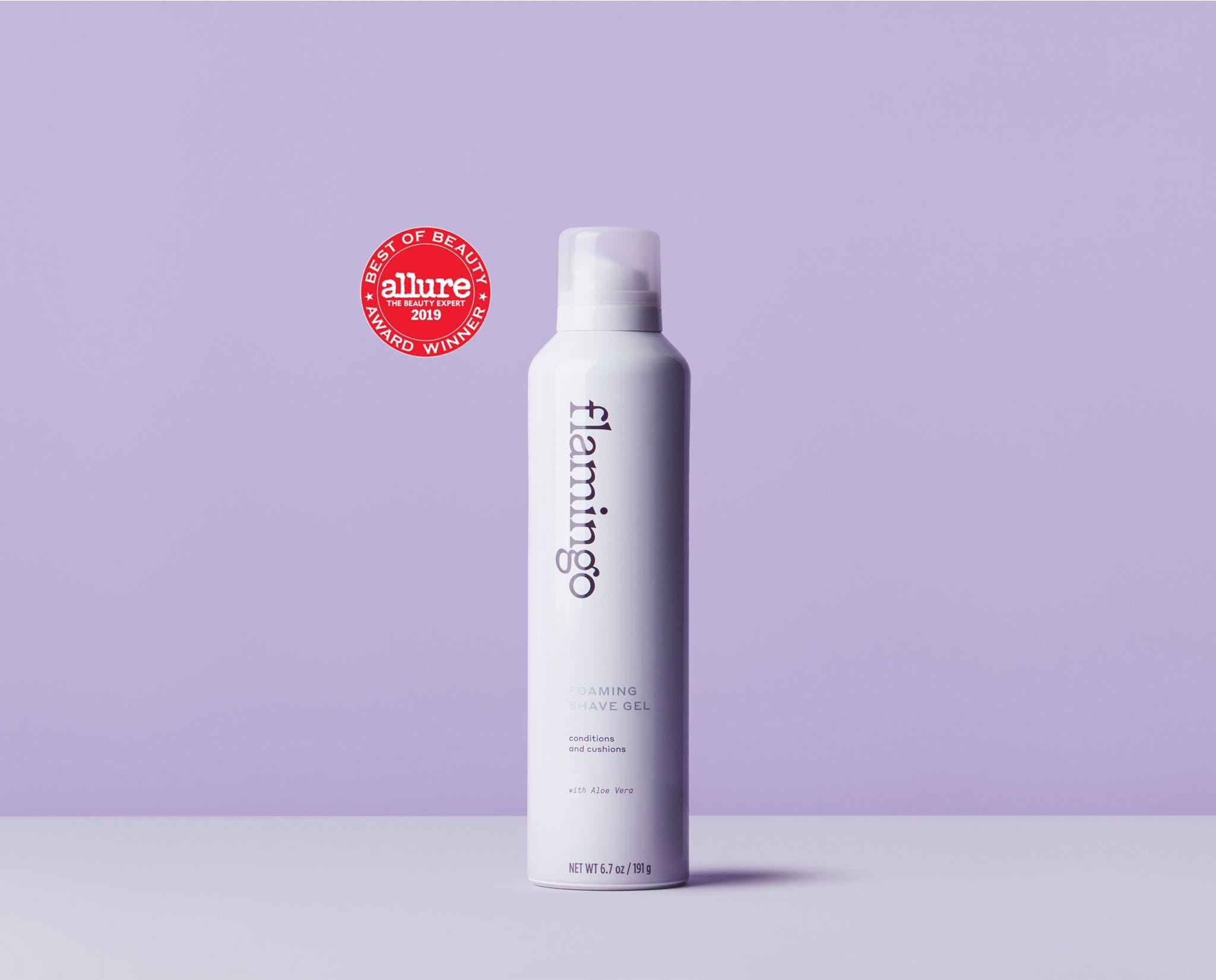Allure best of beauty winning Foaming Shave Gel
