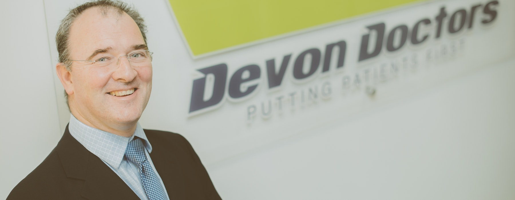 Chief Executive of Devon Doctors, Dr Justin Geddes
