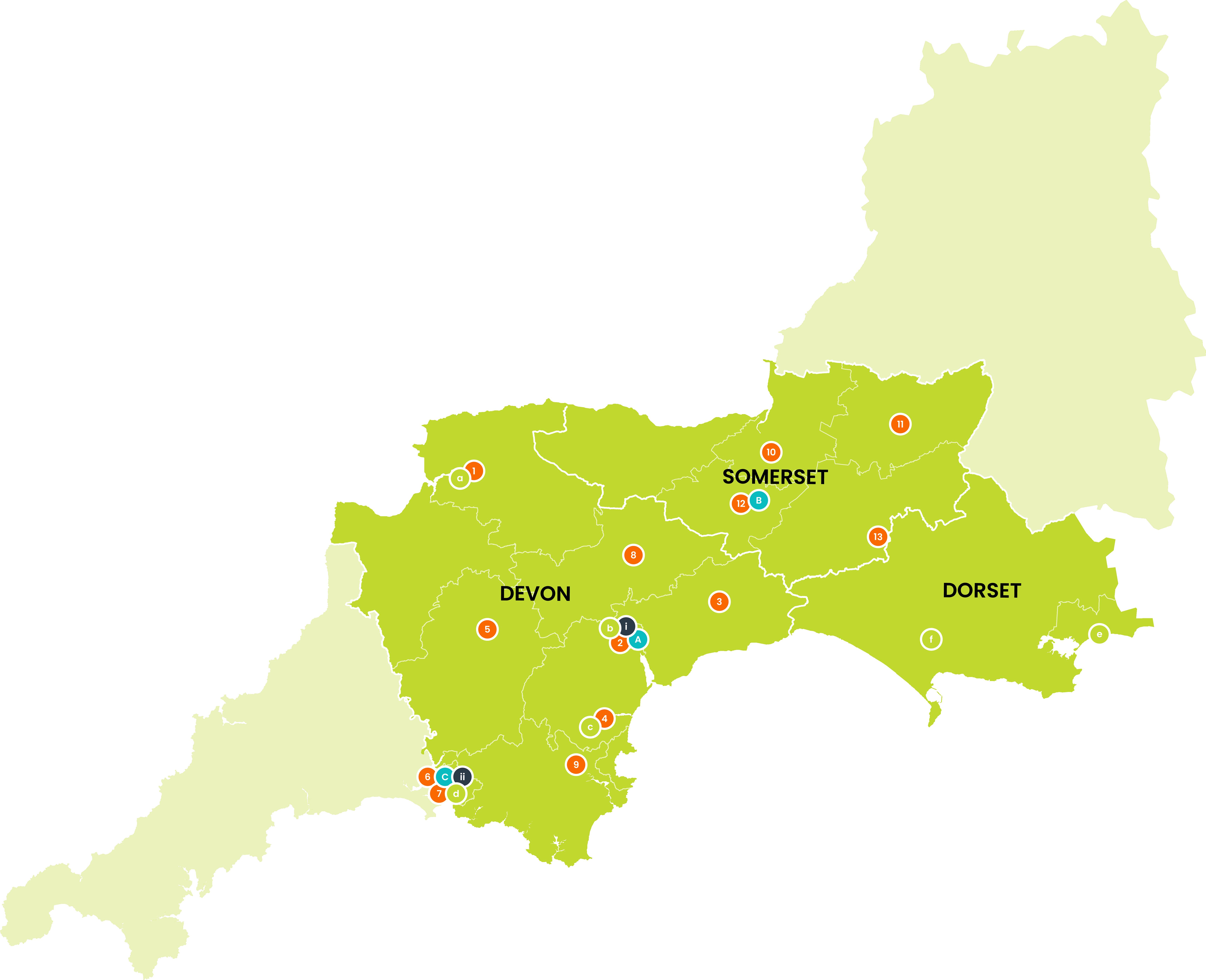 Clinical Vacancies Locations