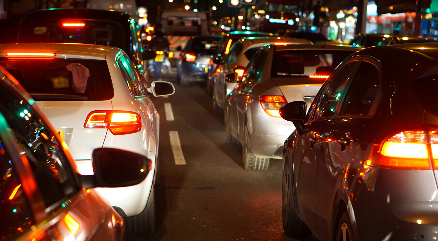 Traffic jams cost the UK economy £9bn annually
