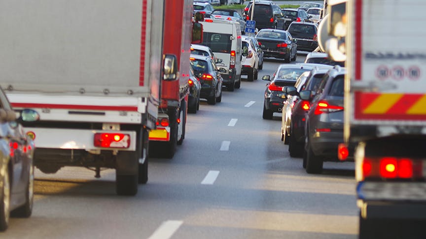 UK drivers spending more than one day per year stuck in traffic.