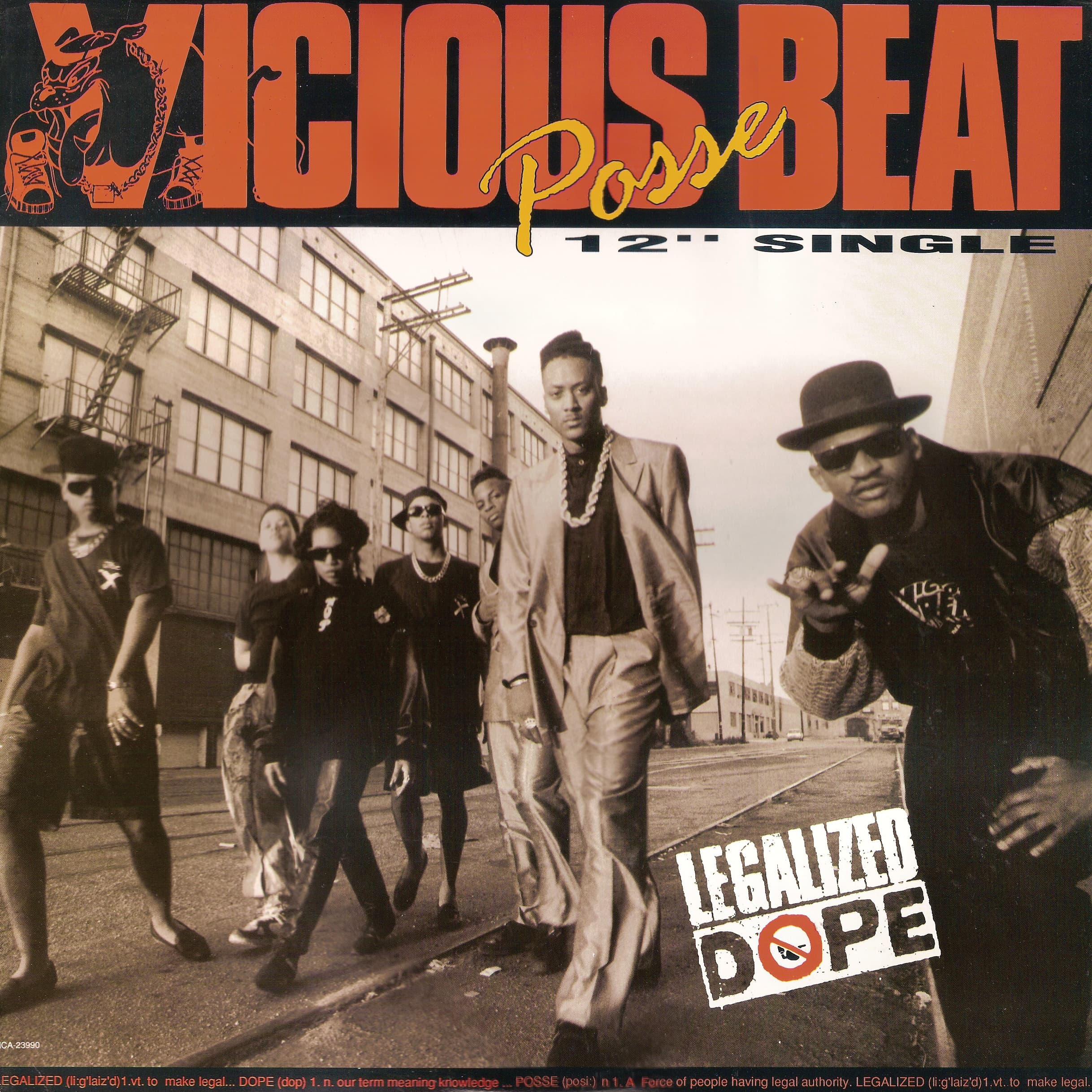 "Vicious Beat Posse ""Legalized Dope"""