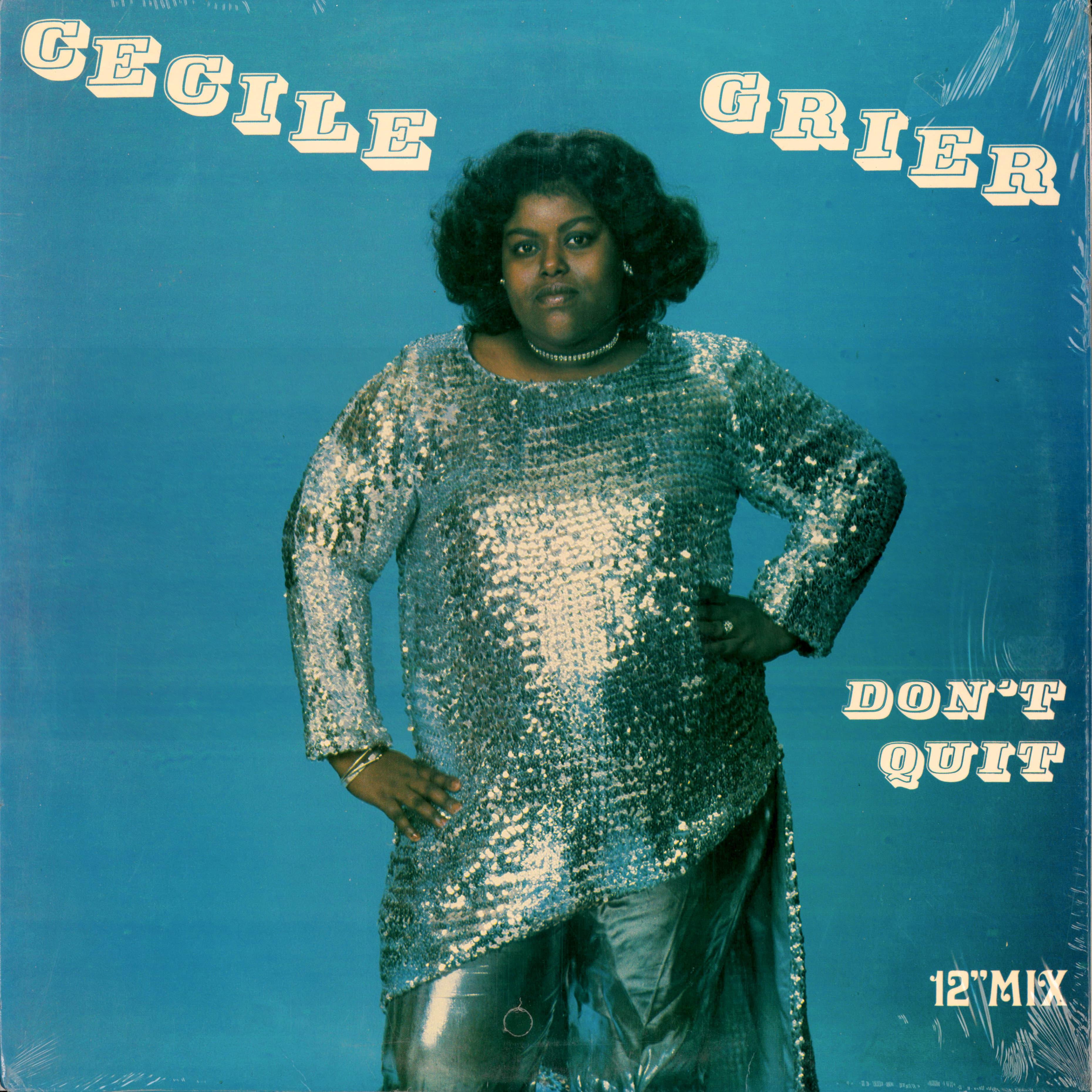 """Cecile Grier """"Don't Quit"""""""