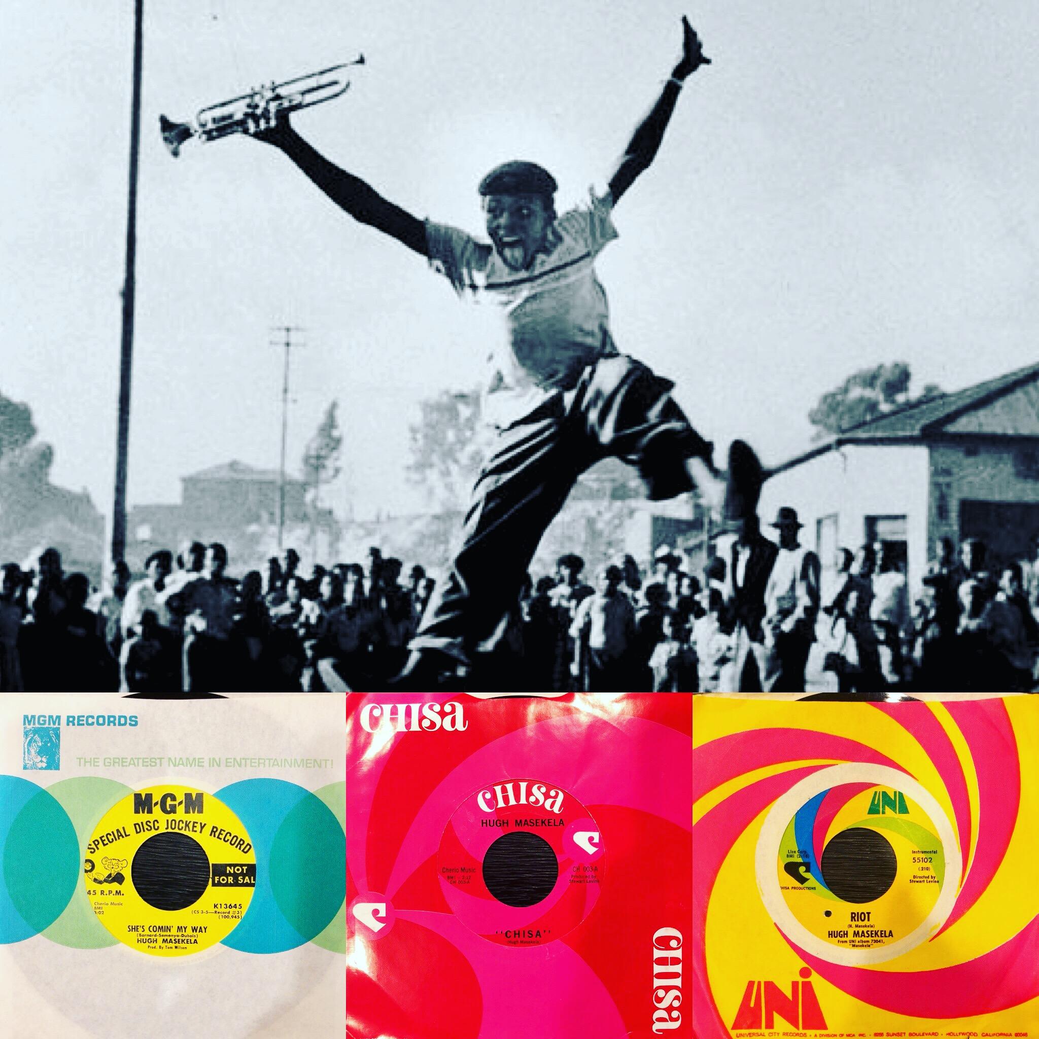 Jazz on 45 Vol. 5 Mixtape – Hugh Masekela Special Edition