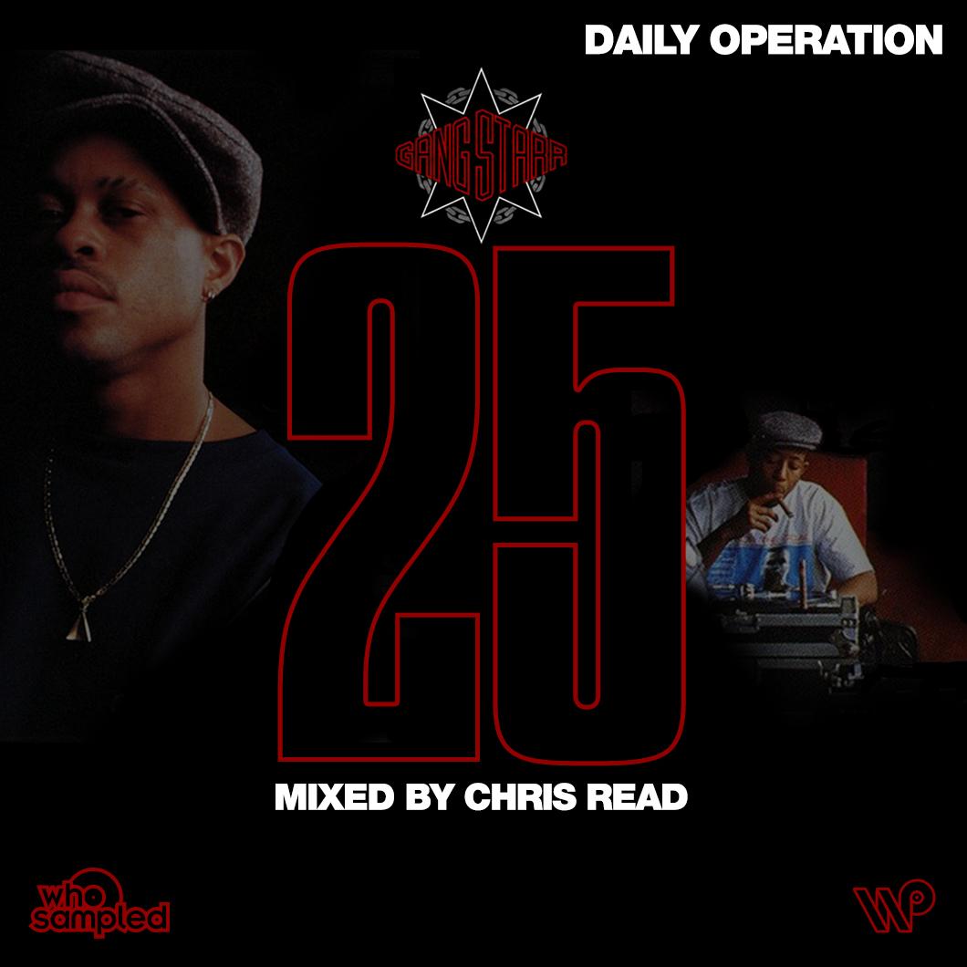 Gang Starr <i>Daily Operation</i> 25th Anniversary Mixtape