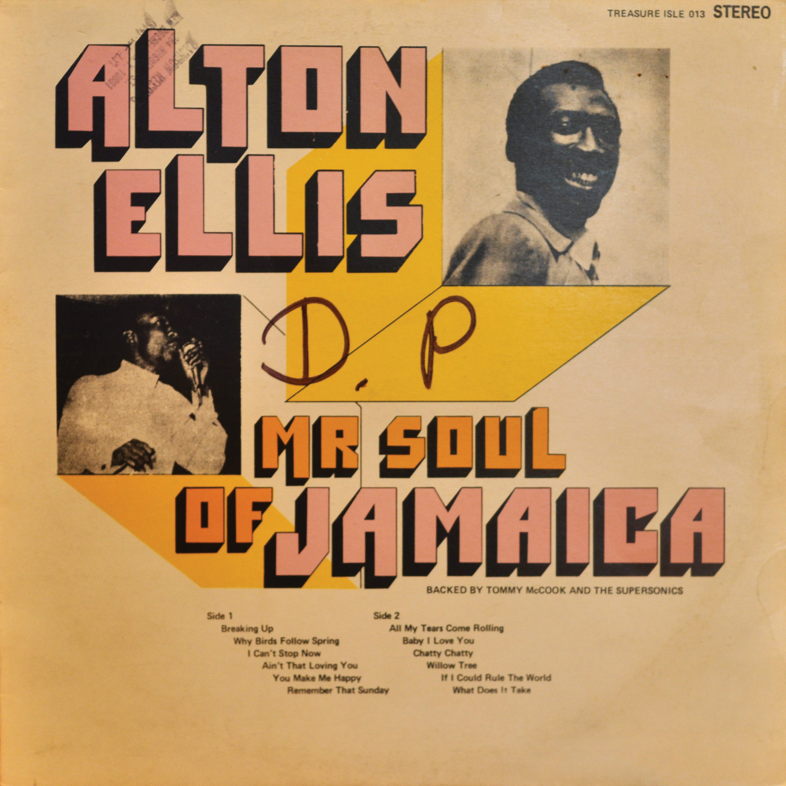 Alton Ellis <i>Mr. Soul of Jamaica</i>