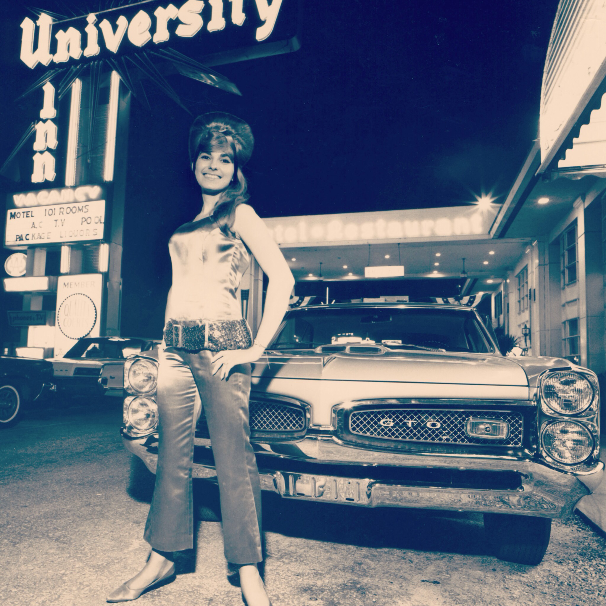 Linda Lyndell at the University Inn in Gainesville, Florida, circa 1968. Image courtesy of the Stax Museum.