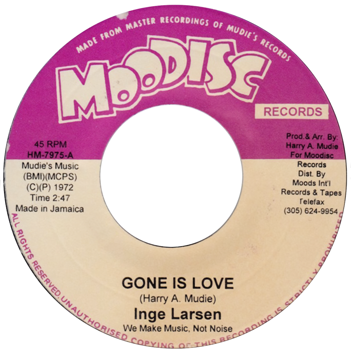 "Inge Larsen ""Gone Is Love"""