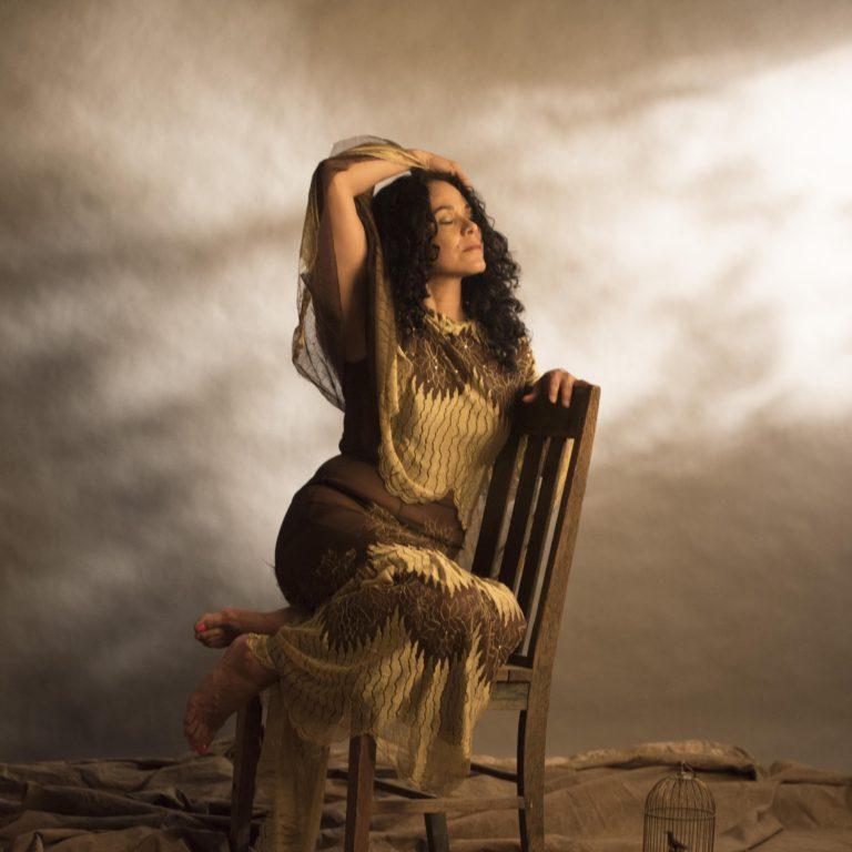 Ingrid Chavez. Photo by Vern Evans.