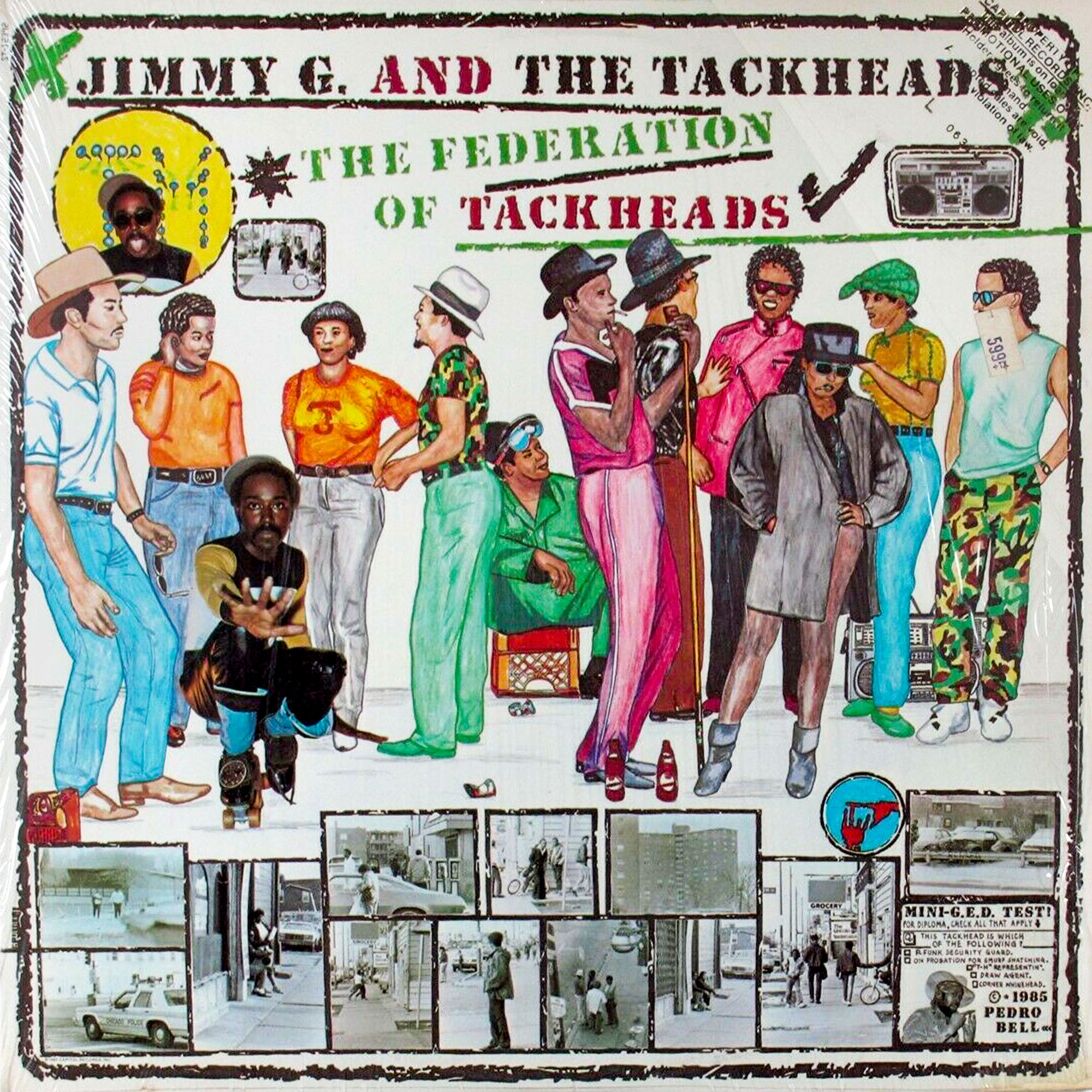Jimmy G. and the Tackheads <i>The Federation of Tackheads</i>