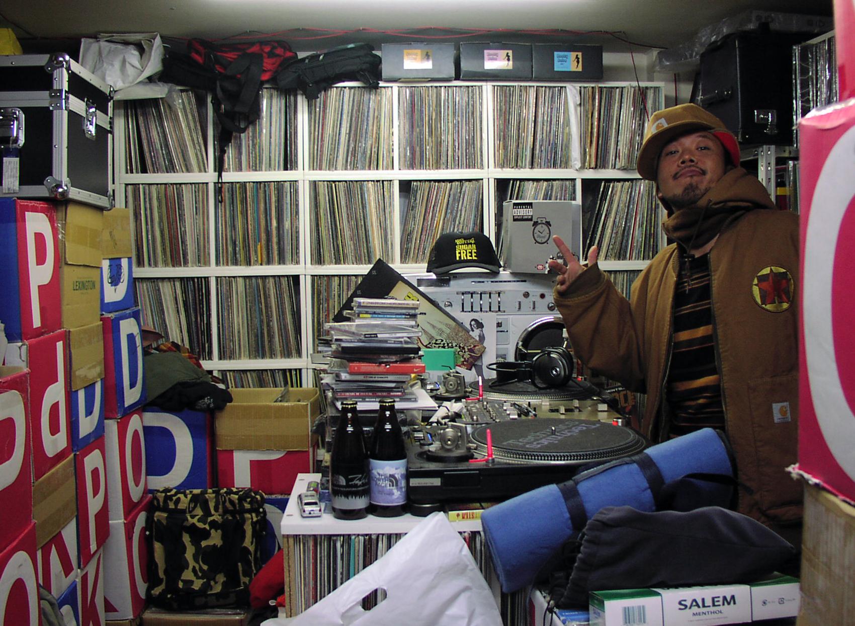 DJ Muro. Photo by James O'Connor.