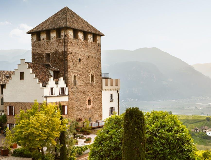 I migliori castelli con vigna