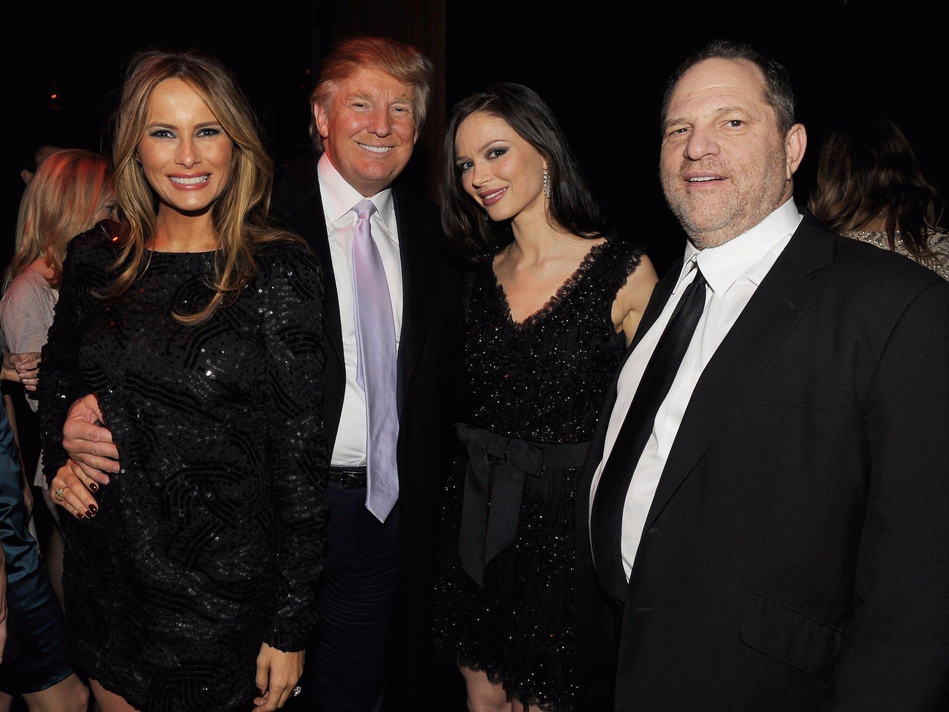Scandalo Harvey Weinstein Donald Trump Melania