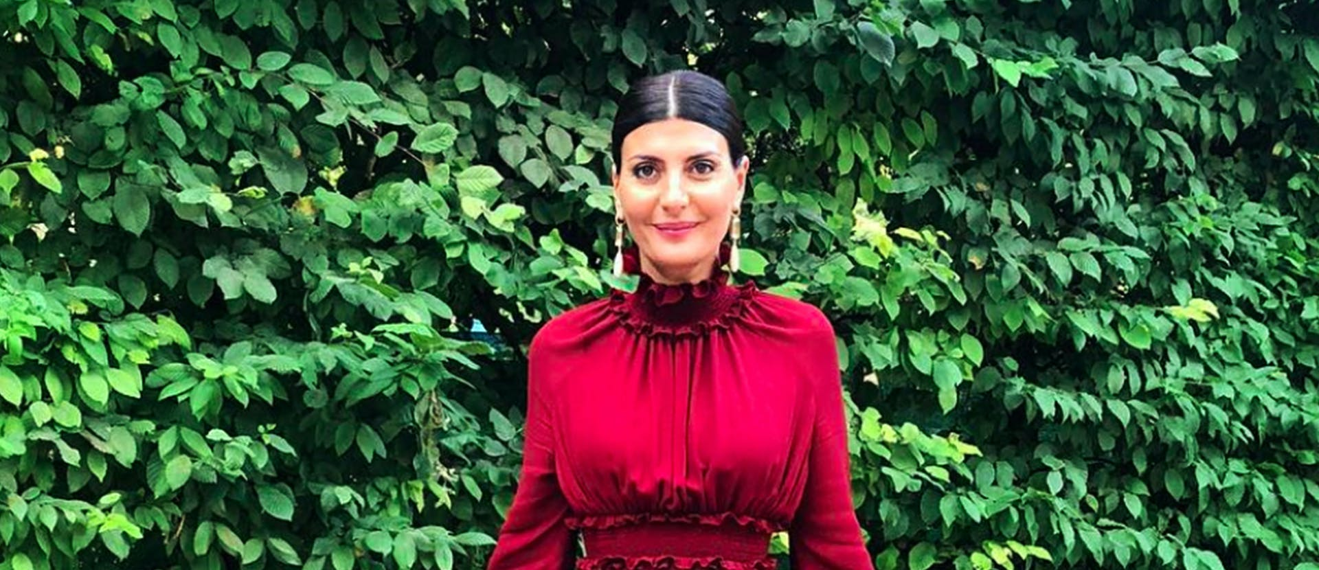 Nella foto Un ritratto di Giovanna Battaglia