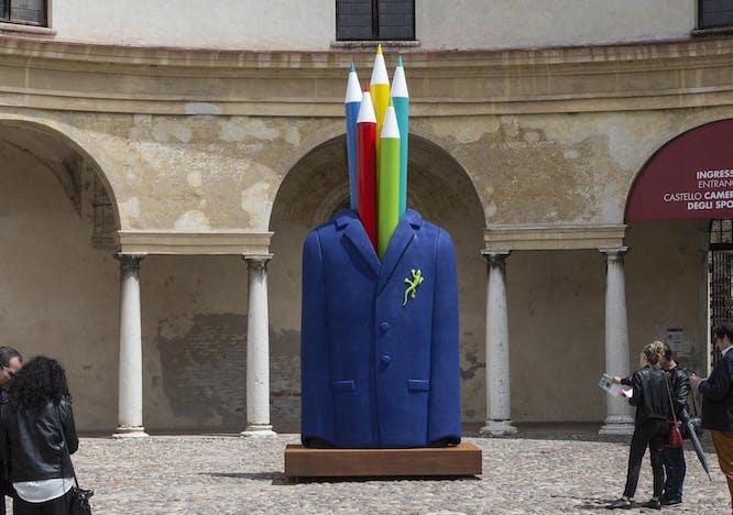 L'artista invisibile si rivela alla città di Mantova