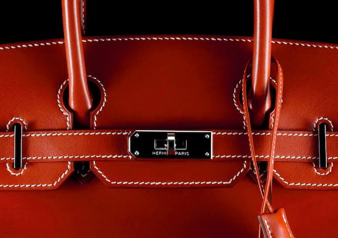 Birkin di Hermès rossa