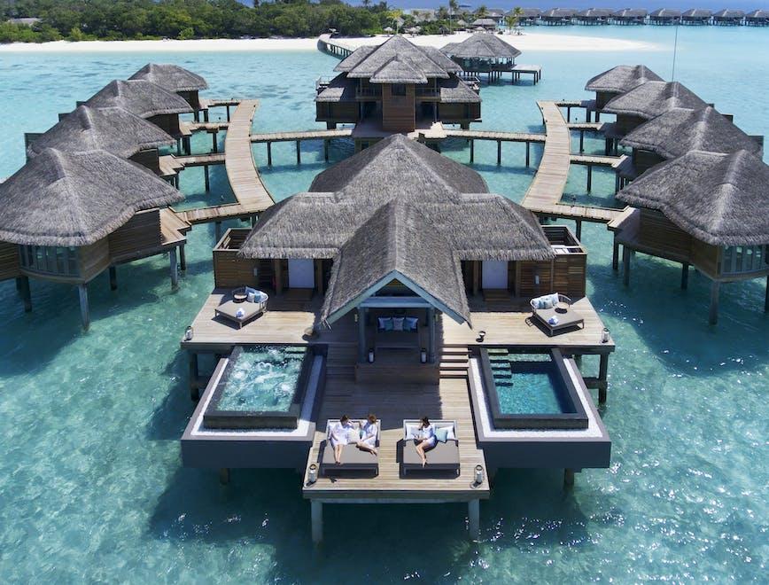 Maldive resort lusso unesco