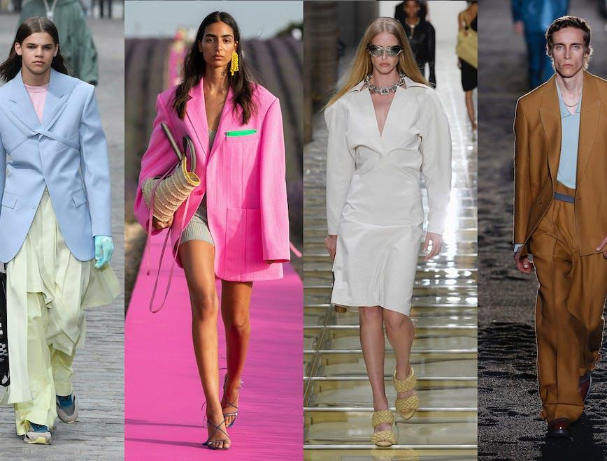 I colori di tendenza dalle collezioni Primavera Estate 2020 - L'Officiel Italia