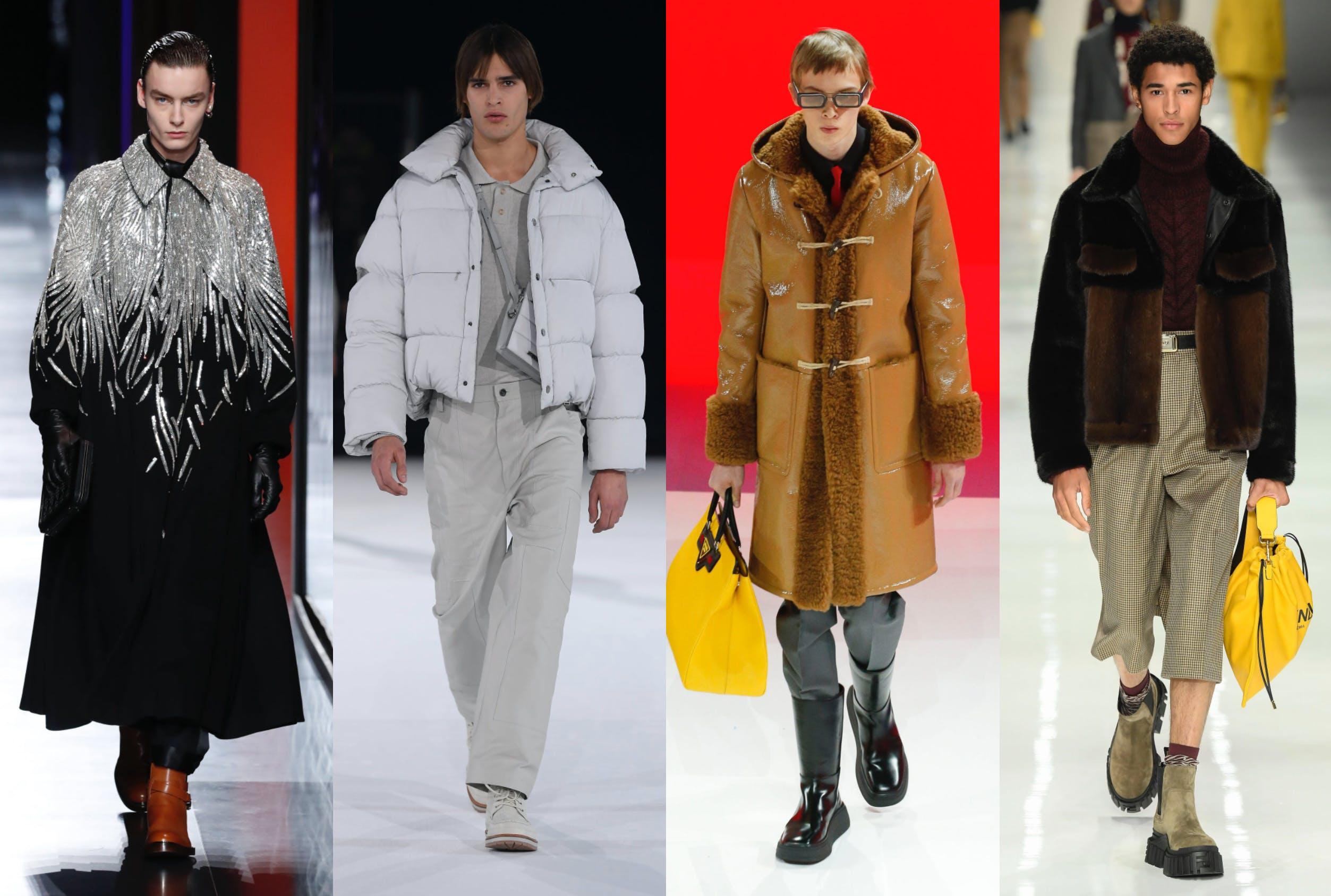 cappotti maschili uomo autunno inverno tendenza