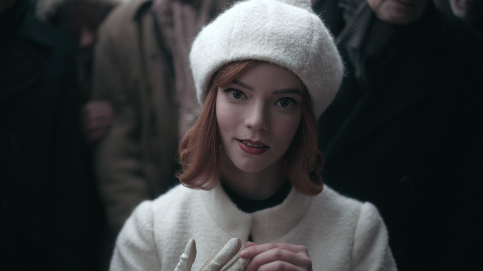 """Anya Taylor Joy in """" La regina degli scacchi"""""""