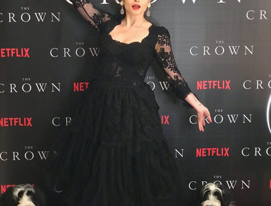 The Crown Helena Bonham Carter Principessa Margaret