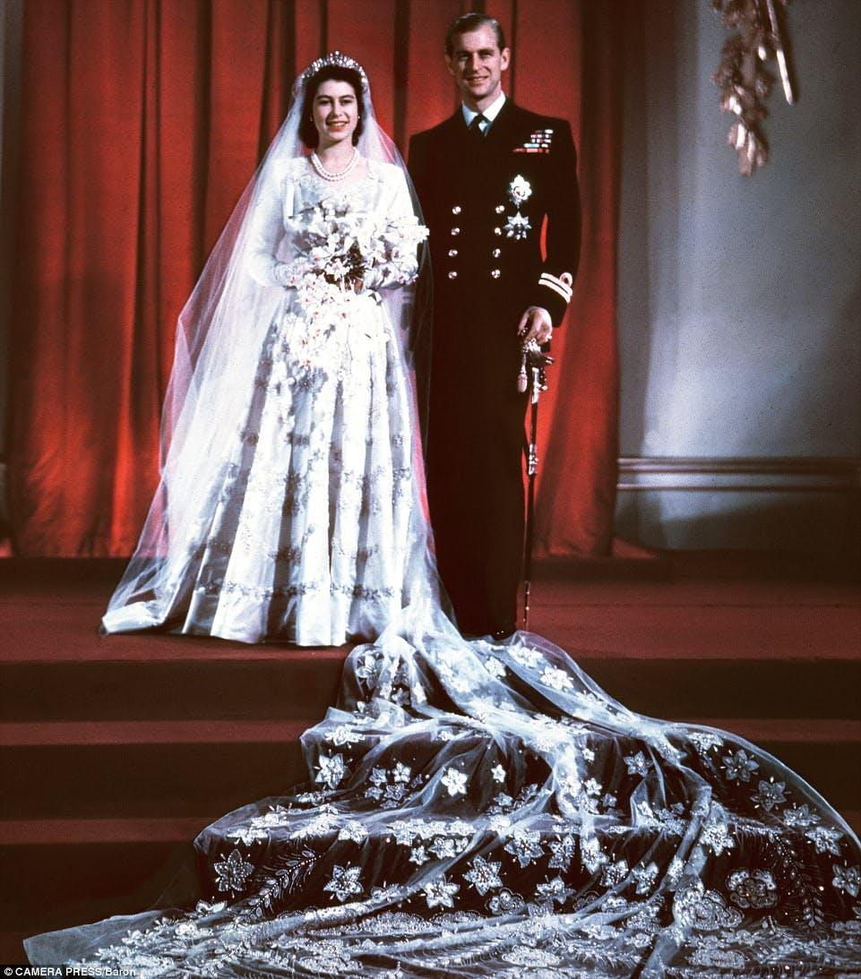 La Regina Elisabetta ed il Principe Filippo
