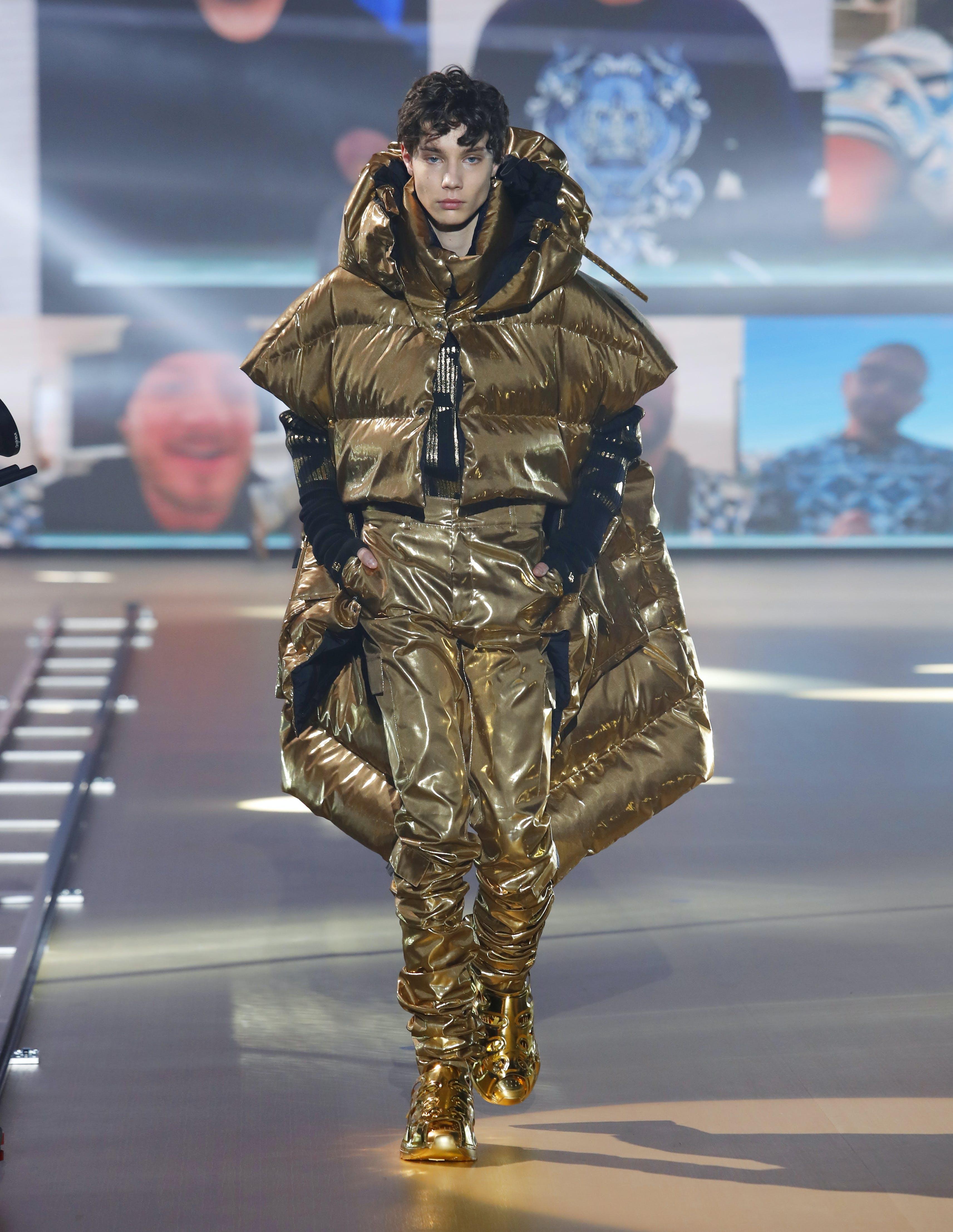 Dolce Gabbana uomo collezione autunno inverno 2021