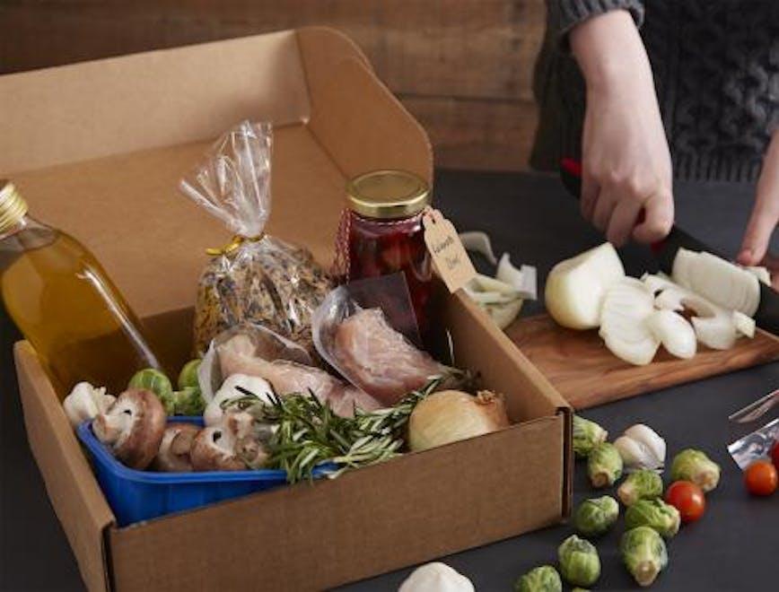 meal kit la delivery box da provare