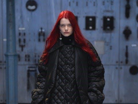 Raf Simons Collezione Autunno Inverno 2021-L'Officielitalia