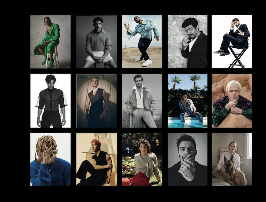 L'Officiel Hommes Italia N°26 - Editor's Note