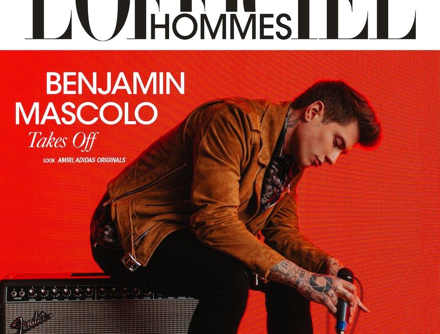 L'intervista e l'editoriale di Benjamin Mascolo - L'Officiel Italia