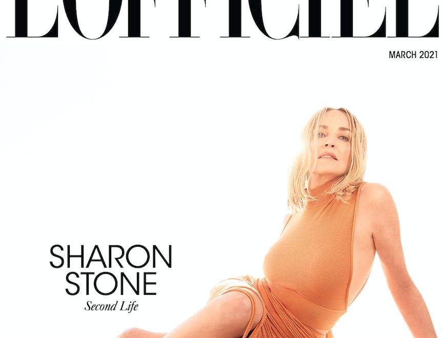 L'intervista e la cover di Marzo de L'Officiel Italia con Sharon Stone