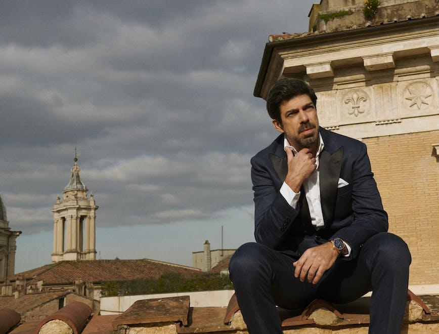 Pierfrancesco Favino L'Officiel Hommes Italia
